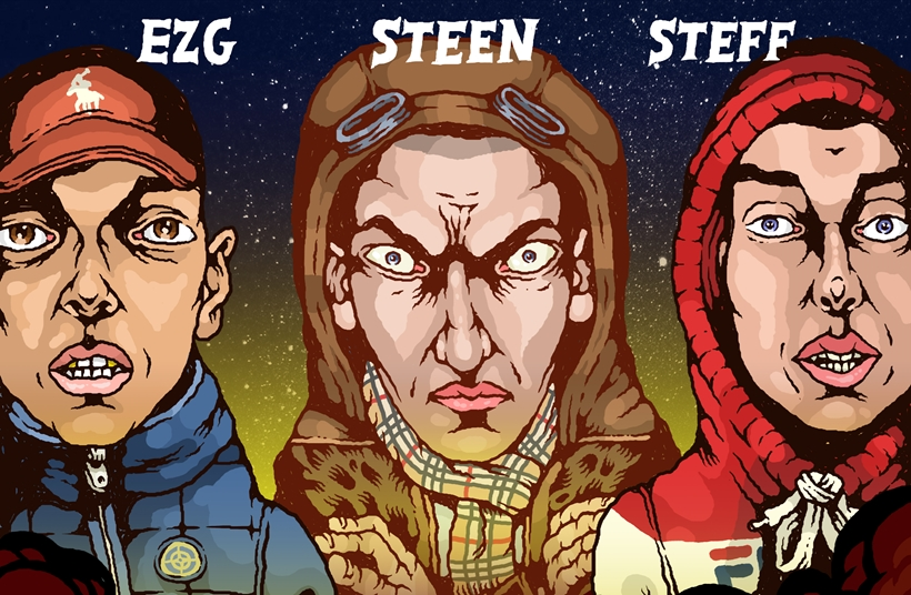 Infected Records: Steen, EZG & Steff